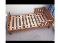Toddler bed (mattress not included)