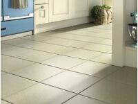 Porcelain Floor Tiles Grey Exterior/Interior 333mm x 333mm - 27 Square Meters New/Boxed