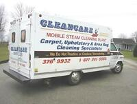 CARPET CLEANING, UPHOLSTERY AND  RUG CLEANING, AND STORAGE.