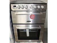 BRAND NEW RANGEMASTER STAINLESS STEEL 60CM ELECTRIC COOKER, RRP £500