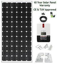 New and Unused 200 watt Solar Panel MPPT kit and batteries