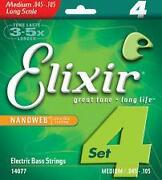 Elixir Bass Strings