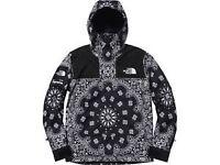Supreme x North Face Paisley Jacket - Black