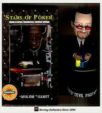 8 stars of POKER bobble heads NEW IN BOX only 15$ each! SEE LIST London Ontario image 1