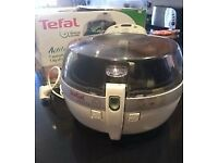 Tefal actifry fryer family.