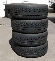 225/60R16 Set of 4 Michelin Used Free Inst.&Bal.75%tread left