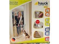 Hauck - Open N Stop Pressure Fix Safety Gates (2x) - up to 81cm door width - White
