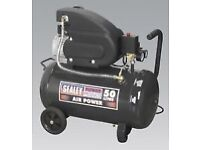 Sealey 50litre air compressor free local delivery if required