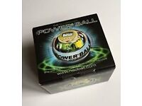 NEW SEALED POWER BALL SPORT MUSICIANS STRENGTH EXCERCISE THERAPY NEON BLUE PRO GLUSBURN BD20 8DW,W.Y
