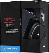 Sennheiser HD 558 Headphones - Titan (Brand New factory sealed plus 1.2m 3.5mm lead)