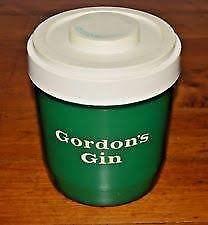 Gordon's Gin ice bucket retro 1960/70s. excellent condition, very clean.