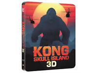 kong skull island 3d steelbook blu ray