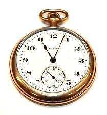 Elgin Gold Filled Pocket Watch Ebay