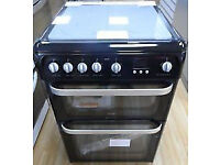 Hotpoint Gas Cooker 60cm Wide Double oven (New) with Free Delivery