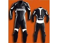 Yamaha 1 or 2 pc Motorbike Leather Suit! Made To Measure any size any design