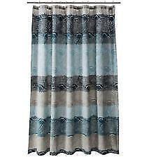 Blue Green Shower CurtainBlue Shower Curtain   eBay. Blue And Yellow Shower Curtain. Home Design Ideas