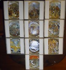 THE CREATION COLLECTOR PLATES BY YIANNIS KOUTSIS 12 TOTAL