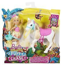 Barbie and Her Sisters in a Puppy Chase - Chelsea Doll and Pony