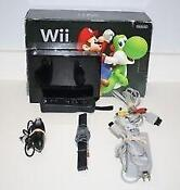 Nintendo Wii Holiday Bundle Black Console