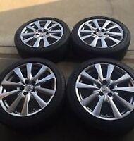 Set de 4 pneus et mags avec TPMS Lexus