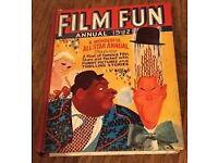FILM FUN ANNUAL 1942 rare book