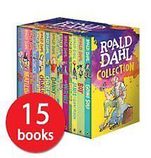 Brand New Roald Dahl Boxset - Includes 15 Books