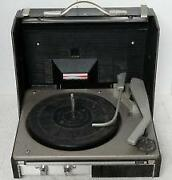GE Portable Record Player