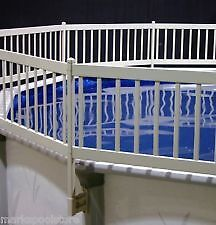 Pool  fence sections for 27 ft pool