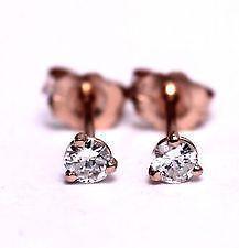 Antique Gold Diamond Earrings