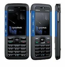 NOKIA 5310 MOBILE CELL PHONE MP3 Video FM Blue