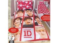 1D, One Direction Duvet Covers, Brand new, different types. Most no pillowcases (please read)