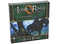 Lord of the Rings - card game (LCG) expansion : The Black Riders