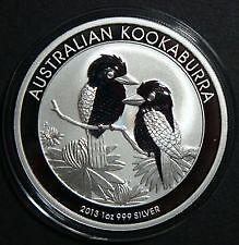 Lot 5 pieces en argent australiennes/silver bullion coins 1 oz
