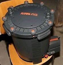 Fluval fx5 filter with media sponges