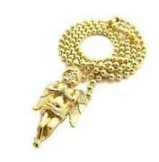 Gold Angel Pendant