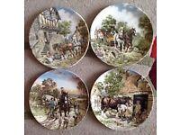 Romany horse cart & China plates