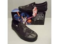 Star Wars Vans Limited Edition 2015 Size 7 uk Black New