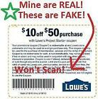 Lowes 10 Off 50