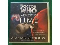 BBC DOCTOR WHO HARVEST OF TIME AUDIO BOOK (10 CD) ALASTAIR REYNOLDS/READ BY GEOFFREY BEEVERS