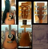 Guitar with Case+Pickup+Tuner+How to Play + Free del'y in GTA