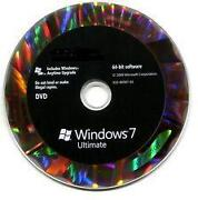 Windows 7 Ultimate Disc