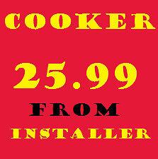 Gas cooker installers Birmingham