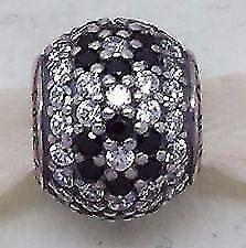 Genuine Pandora Black Cherry Blossom Pave charm 791170NCK