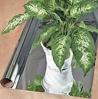 MYLAR 25' ROLL REFLECTIVE MATERIAL FOR HOME HYDROPONIC GARDENS