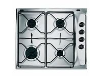 glem gas hob stainless steel unopened std size fit brand new in box
