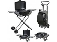 Portable Gas Trolley BBQ - folds for easy moving around!