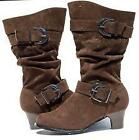 Girls Dress Boots Size 1