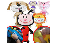 brand new seat belt pet lion, ladybird or dog only £8