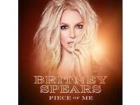 Britney Spears tickets - London O2