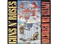 Guns N Roses - Appetite for Destruction *1st PRESS* RARE Geffen 1987 Euro Vinyl - Banned Sleeve